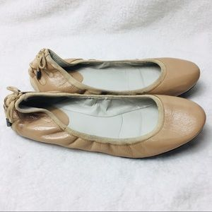 Cole Haan Nike Air Patent Leather Ballet Flats 8B
